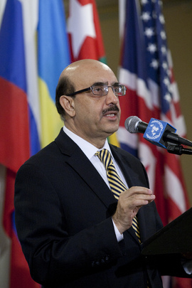 Security Council President Briefs Media on Central African Republic