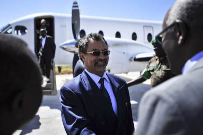 Head of AMISOM Arrives in Mogadishu
