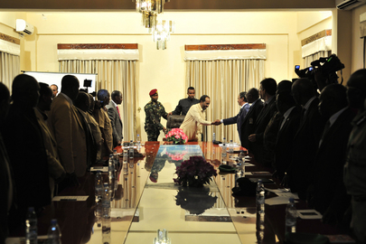 Head of AMISOM Meets Somali President