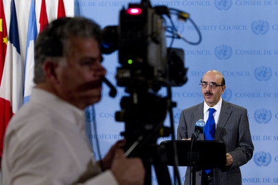 Security Council President Briefs Media on Mali