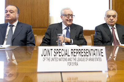 Joint Special Representative for Syria Meets US and Russian Deputy Foreign Ministers in Geneva