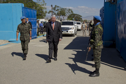 Head of UN Peacekeeping Visits Haiti