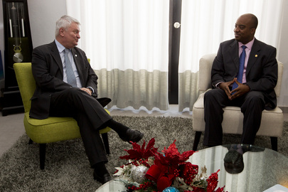 Head of UN Peacekeeping Meets Foreign Minister of Haiti