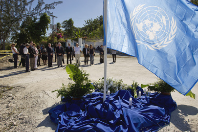 MINUSTAH Observes Third Anniversary of Haiti Earthquake