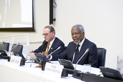 Former Secretary-General Annan Discusses Themes from His Book