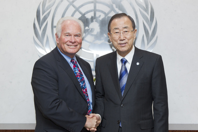 Secretary-General Meets Special Representative for Haiti Ad interim