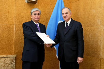 Permanent Representative of Malta to UNOG Presents Credentials