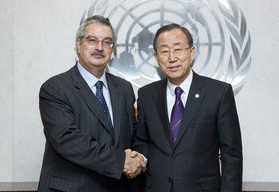 Secretary-General Meets Executive Secretary of Biodiversity Convention