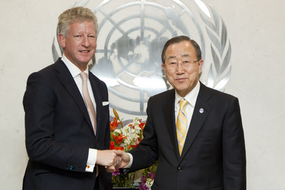 Secretary-General Meets Defence Minister of Belgium