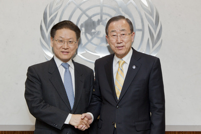Secretary-General Meets Deputy Foreign Minister of Republic of Korea