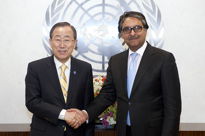 Secretary-General Meets Foreign Secretary of Pakistan
