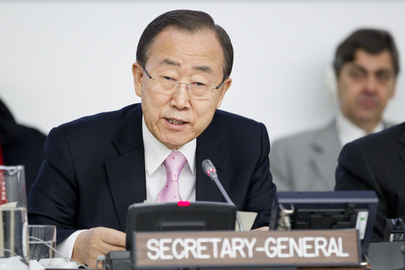 Secretary-General Addresses Assembly on 2013 UN Challenges and Priorities