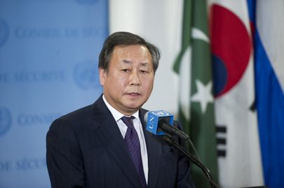 Permanent Representative of the Republic of Korea Briefs Press