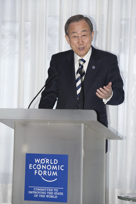 Secretary-General Attends World Economic Forum