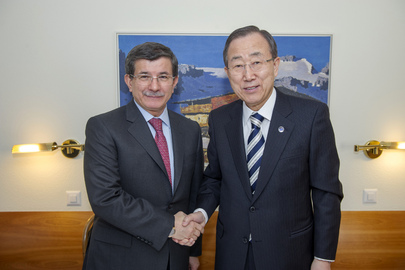 Secretary-General Meets Foreign Minister of Turkey