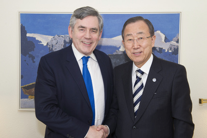Secretary-General Meets UN Envoy for Global Education