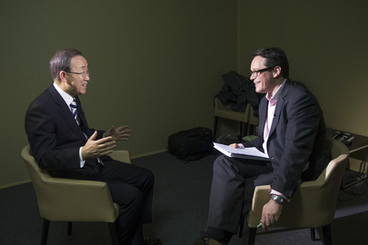 Secretary-General Interviewed by Reuters TV