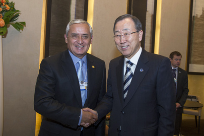 Secretary-General Meets President of Guatemala