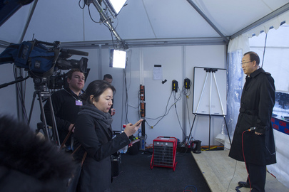 Secretary-General Interviewed by CNN