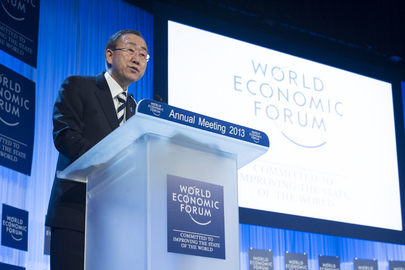 Secretary-General Addresses World Economic Forum