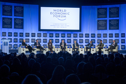 Panelists Discuss Global Development Outlook at Davos