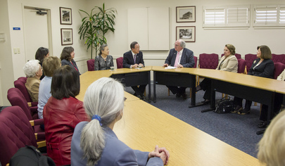 Secretary-General Meets Board of UNA-USA Monterey Bay Chapter