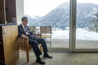 Secretary-General Addresses Corporate Sustainability in Davos