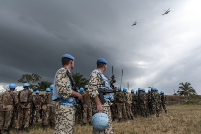 UNMIL Peacekeepers Conduct Rapid Reaction Exercise
