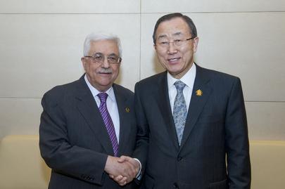 Secretary-General Meets Palestinian President