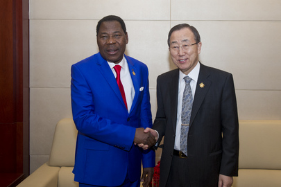 Secretary-General Meets President of Benin