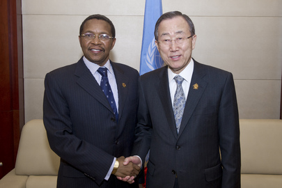 Secretary-General Meets President of Tanzania