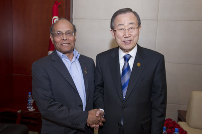 Secretary-General Meets President of Tunisia