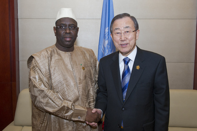 Secretary-General Meets President of Senegal
