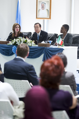 Secretary-General Holds Town Hall Meeting with UN Staff in Kuwait