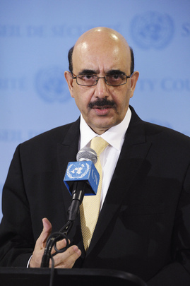 Security Council President Briefs Media on Central Asia