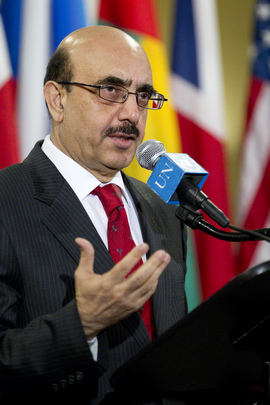 Security Council President Briefs Media on Rule of Law
