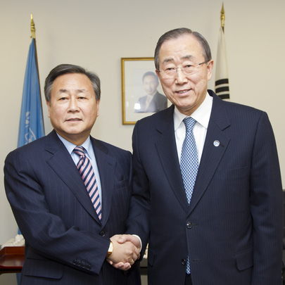 Secretary-General Meets President of Security Council