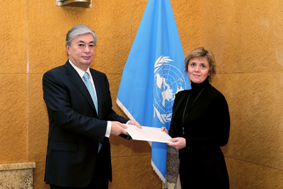 Permanent Representative of Monaco to UNOG Presents Credentials