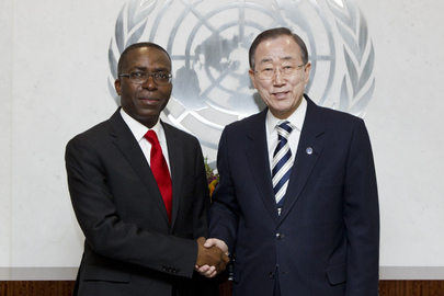 Secretary-General Meets DRC Prime Minister