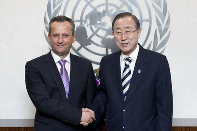 Secretary-General Meets Parliamentary Leader of former Yugoslav Republic of Macedonia