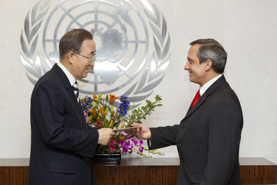 Permanent Representative of Cuba Presents Credentials