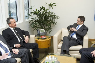 Assembly President Meets Parliamentary Leader of former Yugoslav Republic of Macedonia