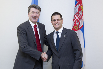 Assembly President Meets Education Minister of Serbia