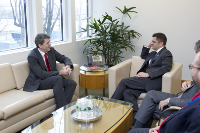 Assembly President Meets Serbian Minister of Education