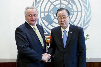Secretary-General Meets Austrian Labour Minister