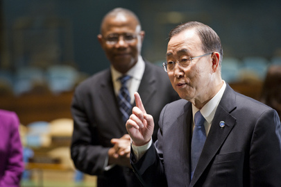 Secretary-General Marks World Radio Day with UN Radio Staff