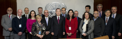 Secretary-General Hosts Luncheon for UNCA Executive Committee