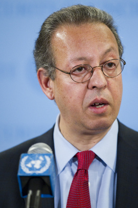 UN Special Adviser on Yemen Briefs Media