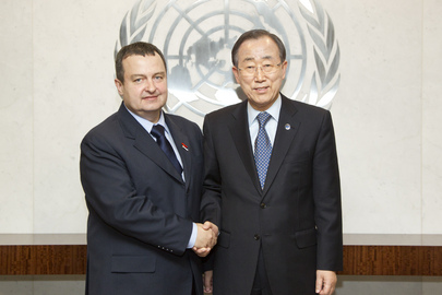 Secretary-General Meets Prime Minister of Serbia