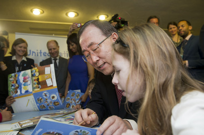 Launch of the United Nations Children's Tours